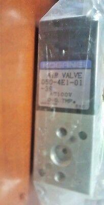 New 050-4e1-01-39-10-100 Solenoid Air Valve Mazak G50kt002150 4185