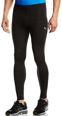 Mens Compression Long Tights (Puma Essential Long Compression Mens Running Tights Black Gym Sports Training)