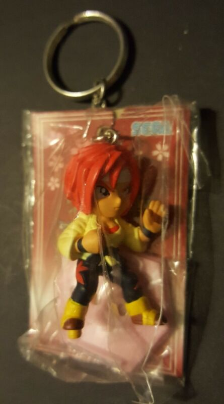 "Sakura Wars Keychain 2002 Sega 3"" Figure Kanna Japanese Anime New"