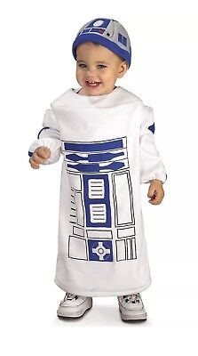 Star Wars Baby Bunting R2D2 Costume Toddler Rubies 885310