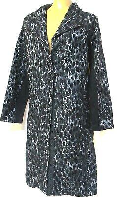 TS coat TAKING SHAPE plus sz XXS / 12 Espresso Jacket winter leopard NWT rp$150!