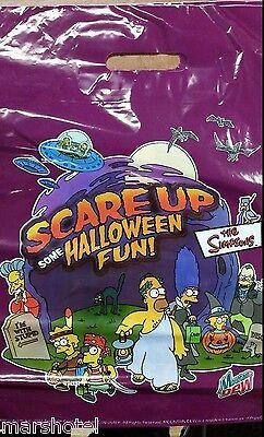 THE SIMPSONS MOUNTAIN DEW SODA PROMO HALLOWEEN BAG 2002 PREMIUM TRICK OR TREAT - The Simpsons Halloween Games