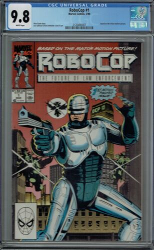 CGC 9.8 ROBOCOP #1 1ST COMIC APPEARANCE 1990 MARVEL