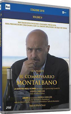 IL COMMISSARIO MONTALBANO - STAGIONE 2018 2 DVD