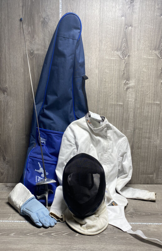 Absolute Fencing Set, Pistol and French Practice Foil Included with Gear