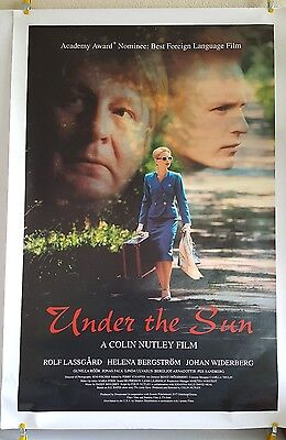 UNDER THE SUN 1998 Original Single Sided Theater Poster 27x40 Colin Nutley
