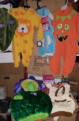 9 New Infant/toddler s Baby Halloween Mini Monster Costumes Age 6-36 Months New