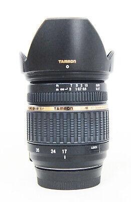 # TAMRON SP AF 17-50mm F/2.8 XR Di II for Nikon Built-in Motor type S/N 075810