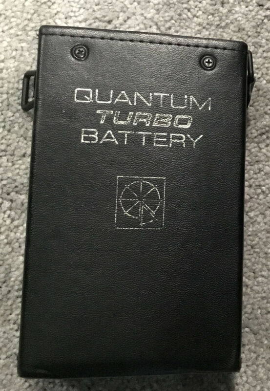 Quantum Turbo Battery. Used. Good Condition. Adapter Is Included.