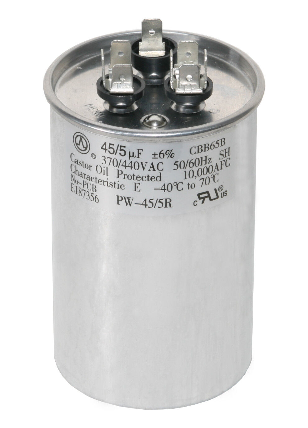 Carrier Replacement 30//4 uf MFD x 370 VAC # 97F9836 Genteq GE Dual Capacitor