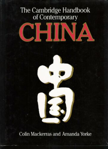 The Cambridge Handbook of Contemporary China by Aman...