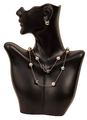 - Necklace Jewelry Display Bust Pendant Show Case Mannequin Earring Holder Stand