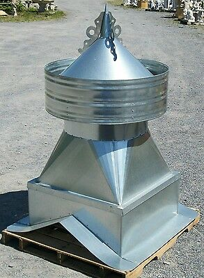 large galvanised barn vent,WE CAN MAKE ANY PITCH