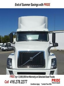 2014 Volvo DAY CAB BIG POWER, SUPER CLEAN TRUCK
