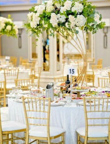"132"" Round Ivory Velvet Tablecloth Polyester"