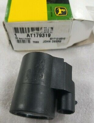 John Deere Oem Part At179319 Electric Coil Magnetic Solenoid Backhoe 12 Volt