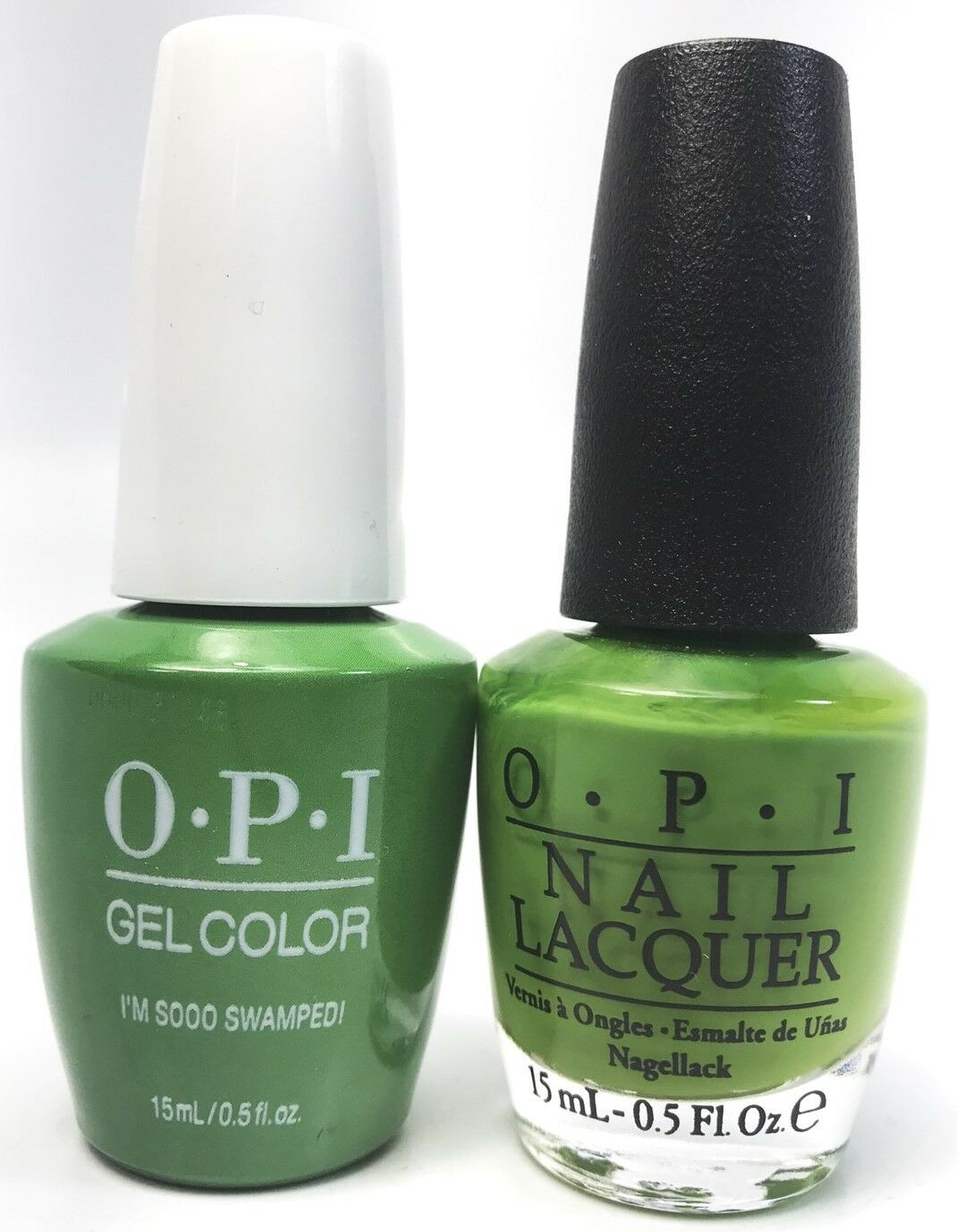Opi GelColor Gel Polish + Nail Polish I\'m Sooo Swamped! #N60   eBay