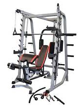 Smith machine semi-commercial +24 Month warranty with Attachments Malaga Swan Area Preview