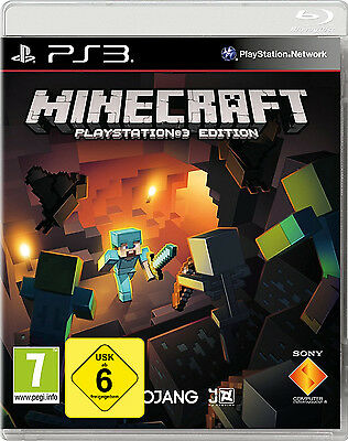 PS3 Spiel Minecraft: PlayStation 3 Edition NEU&OVP