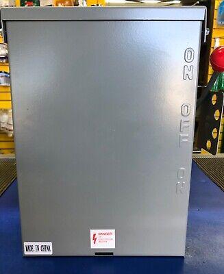 Emergency Power Transfer Switch Non Fused Generator Manual 120240v 100amp B New