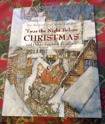 'Twas The Night Before Christmas 1986 Poetry Museum of Art HBDJ A Rackham 1st Ed ()