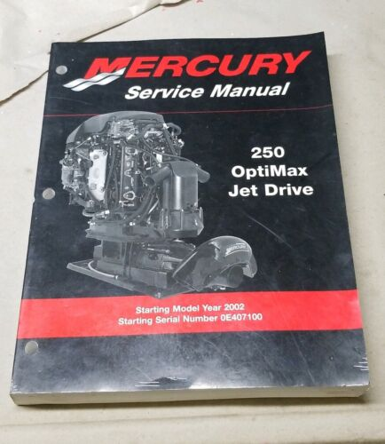 90-888438  Mercury Outboards 250 Optimax Jet Drive Factory OEM Service Manual