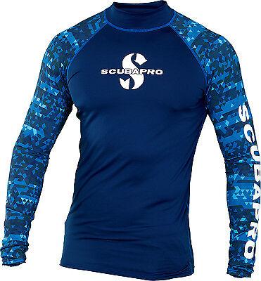 Uv Rash Shirt (UV Schutz Shirt Rash Guard Langarm Scubapro AEGEAN Herren)
