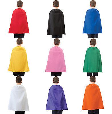 CHILD SUPERHERO COSTUME CAPE KIDS BOYS GIRLS 26