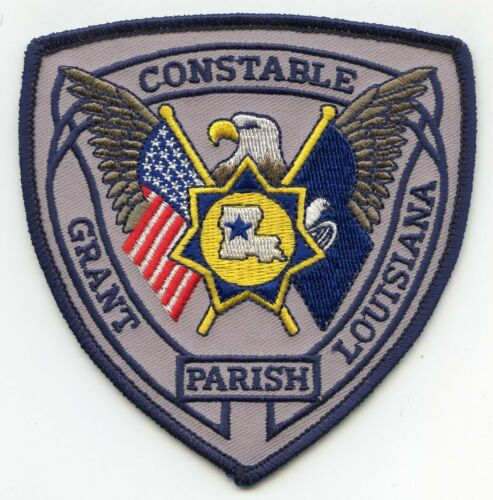 GRANT PARISH LOUISIANA CONSTABLE sheriff police PATCH