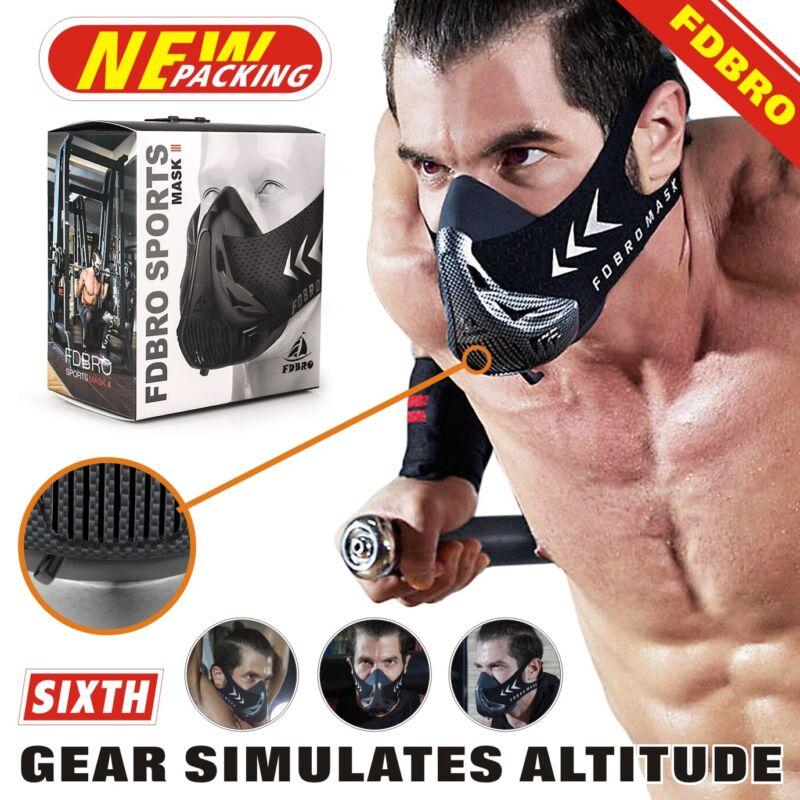 FDBRO MMA Cardio Workout 3.0 High Altitude Training Fitness Mask US High Auality