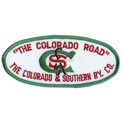 "Patch- Colorado & Southern ""The Colorado Road""  # 11859 -NEW -Free Ship"