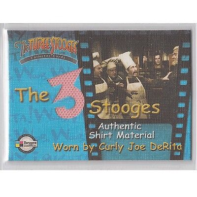 Three Stooges Costume (Breygent The Three Stooges Costume Card C1 Neat)