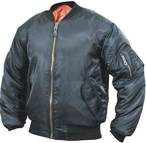 NEW-MEN-MA1-FLYING-BOMBER-PILOT-MILITARY-BIKER-ARMY-SECURITY-DOORMAN-JACKET