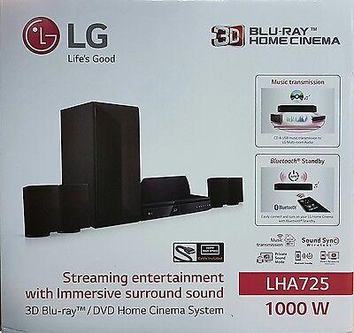 LG LHA725 3D Blu-ray 5.1 Heimkinosystem 1000 W (B1687-1690)