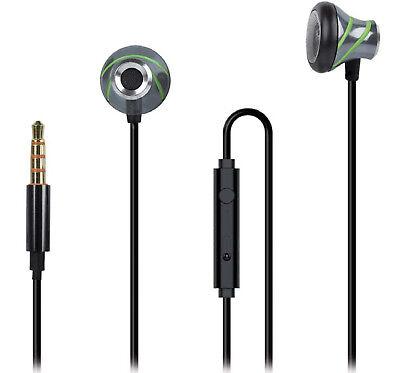 In-Ear Stereo Headset für ZTE Blade V7 / V7 Lite / V7 Max anthrazit /