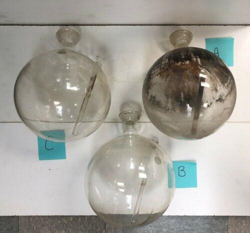 Pyrex Boiling Flask w/ 2 necks 5000 mL Chemistry Lab Glassware