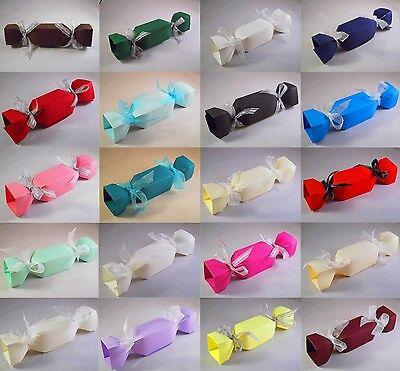 Christmas Cracker Boxes - Choose Colour - Choose QTY - Xmas Box, Favour Etc ()