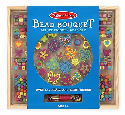 MELISSA & DOUG'S BEAD BOUQUET - DELUXE BEAD SET - NEW IN FACTORY SEALED PACKAGE