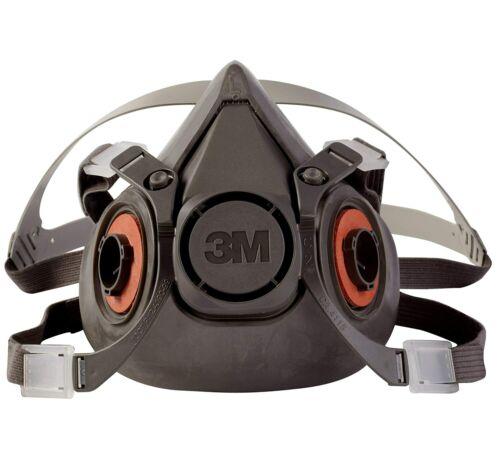 3M Half Face Piece Respirator 6300 LARGE NEW!  Volume Pricing!