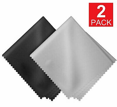 2-PACK 15cm*15cm Microfiber Cleaning Cloth For Camera Lens Glasses Phone Screen Camera, Drone & Photo Accessories