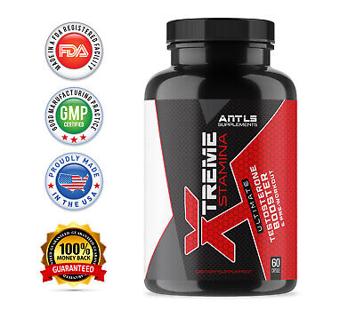 Testosterone Booster for Men,Male Enhancement,Stamina,Libido,Performance,Pill