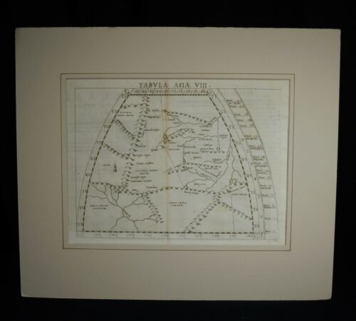 Antique 1561 Map Tabvla Asia  VIII by Ruscelli        51907