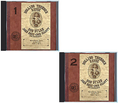 1975 Bob Dylan Rolling Thunder Revue  One Live Full Show On 2 Cds