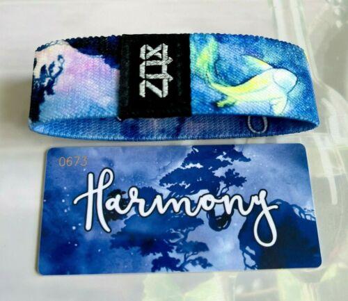 ZOX Strap HARMONY - Reversible Wristband- Beautiful Colorful Fish