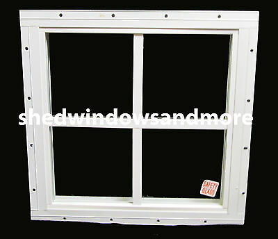 Storage Shed Windows 16 X 16 Square White, Playhouse