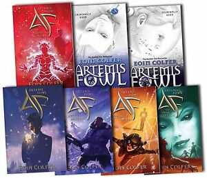 Disney-Artemis-Fowl-Collection-7-Books-Set-Eoin-Colfer