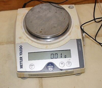 Mettler Toledo Pl202-s 210g Max Digital Balance Scale Tested