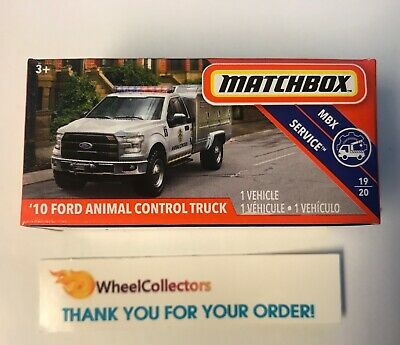 - '10 Ford Animal Control Truck * 2019 Matchbox POWER GRABS Case D