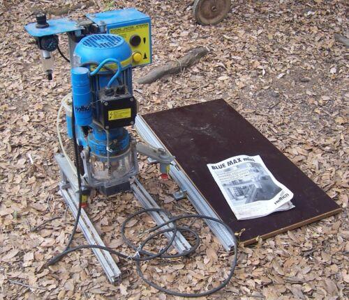 Hettich International Blue Max Mini Pneumatic Hinge Boring Machine