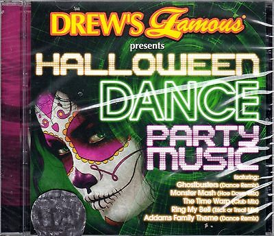 Drew's Famous HALLOWEEN DANCE PARTY MUSIC CLUB MIXES & SPOOKY GROOVE REMIXES NEW (Halloween Music Dance)